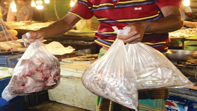 Govt opts to go green, slaps duty on polythene