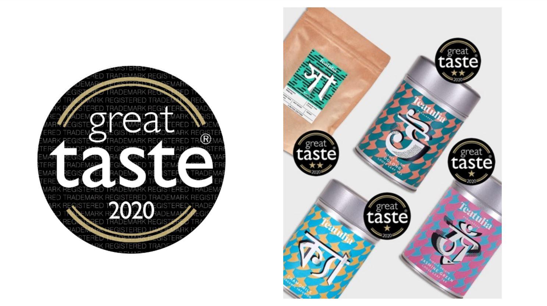 Teatulia wins Great Taste Award 2020