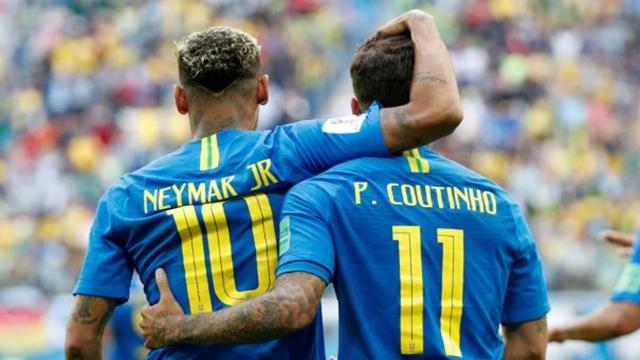 Coutinho stealing Neymar's show