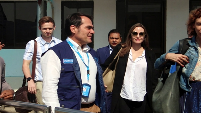 Angelina Jolie in Cox's Bazar to visit Rohingya camps