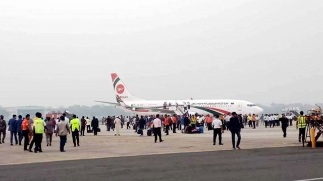Probe body formed over 'bid to hijack' Biman aircraft