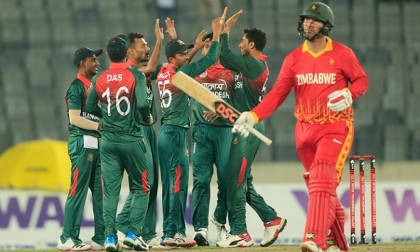 Tigers win first T20I against Zimbabwe by 48 runs