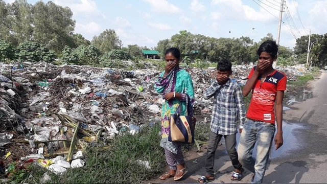 Thousands suffer for ill-planned dumping station in Panchagarh