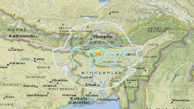 Mild earthquake jolts Bangladesh