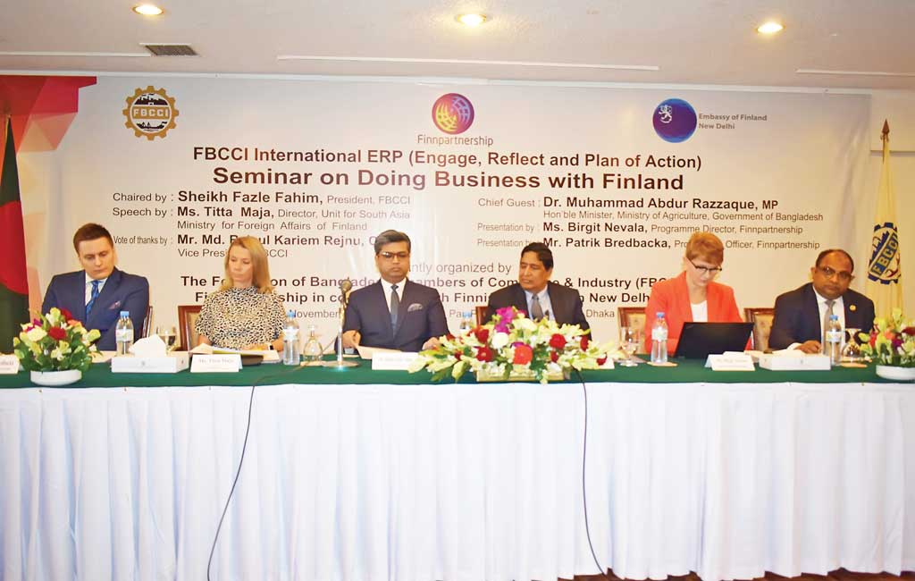 Finland keen to invest in Bangladesh