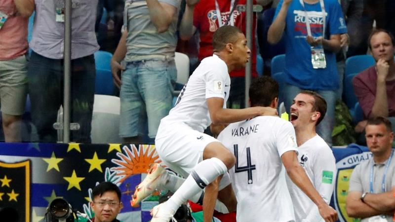 France beat Uruguay to reach semi-finals