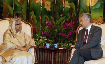 PM urges Singapore to pursue Myanmar for Rohingya repatriation