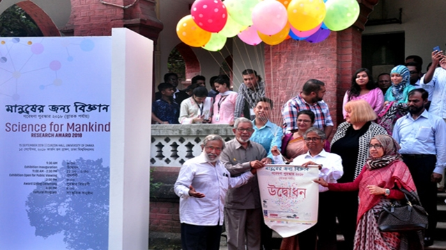 'Science for mankind' exhibition held at DU