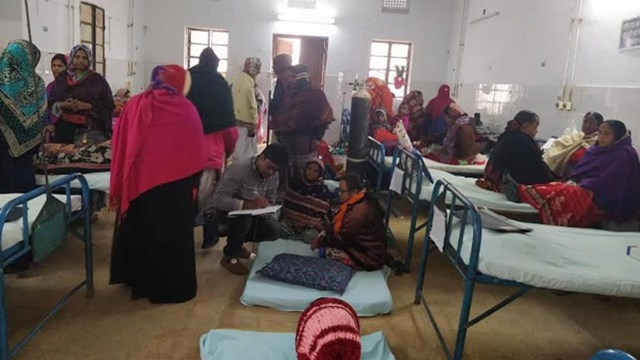 5,947 people affected in cold-related diseases in 24hrs