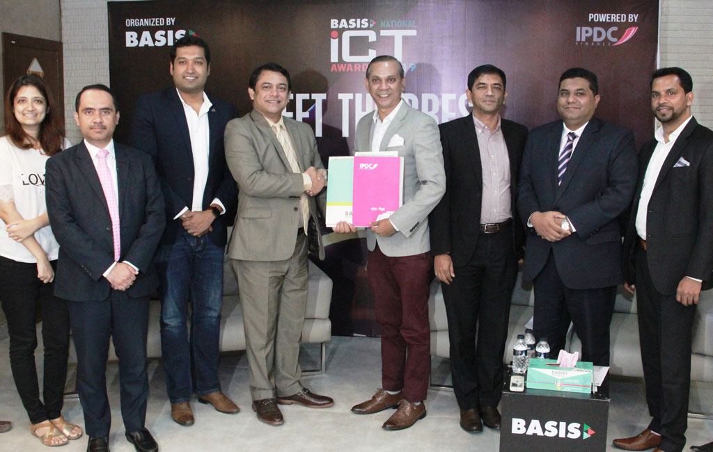 IPDC Finance Limited has tied up with BASIS to organize BASIS National ICT Awards for the next 5 years