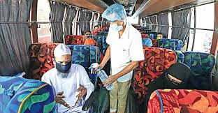 Experts for strict monitoring of health guidelines in public transport