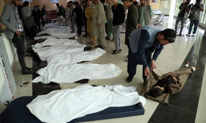 30 killed, 52 hurt in blast near Kabul girls' school
