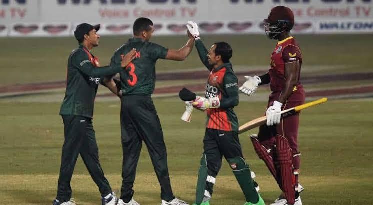 BD sweep ODI series 3-0 against West Indies