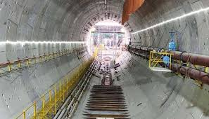 Boring for one tube of Karnaphuli tunnel completed