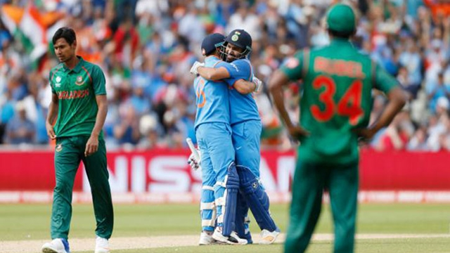 Bangladesh suffer crushing 7-wkt defeat to India