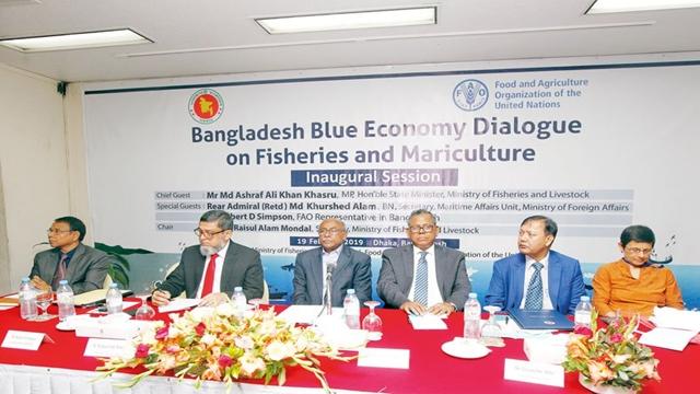 Experts for mariculture development to explore blue economy potentials