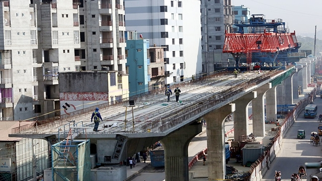 38.53pc work of phase-1 of metro rail completed