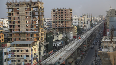 Metro rail project work resumes