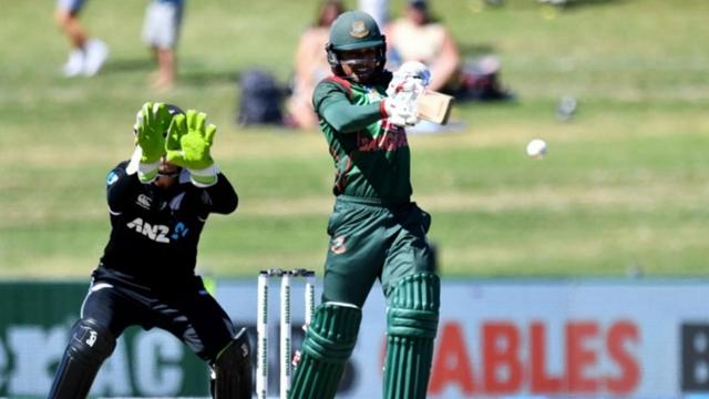 Bangladesh set 233-run winning target for NZ in 1st ODI