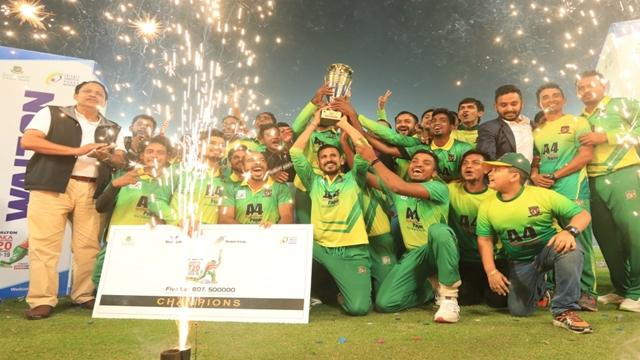 Sheikh Jamal clinch DPL T20 title despite Farhad heroics