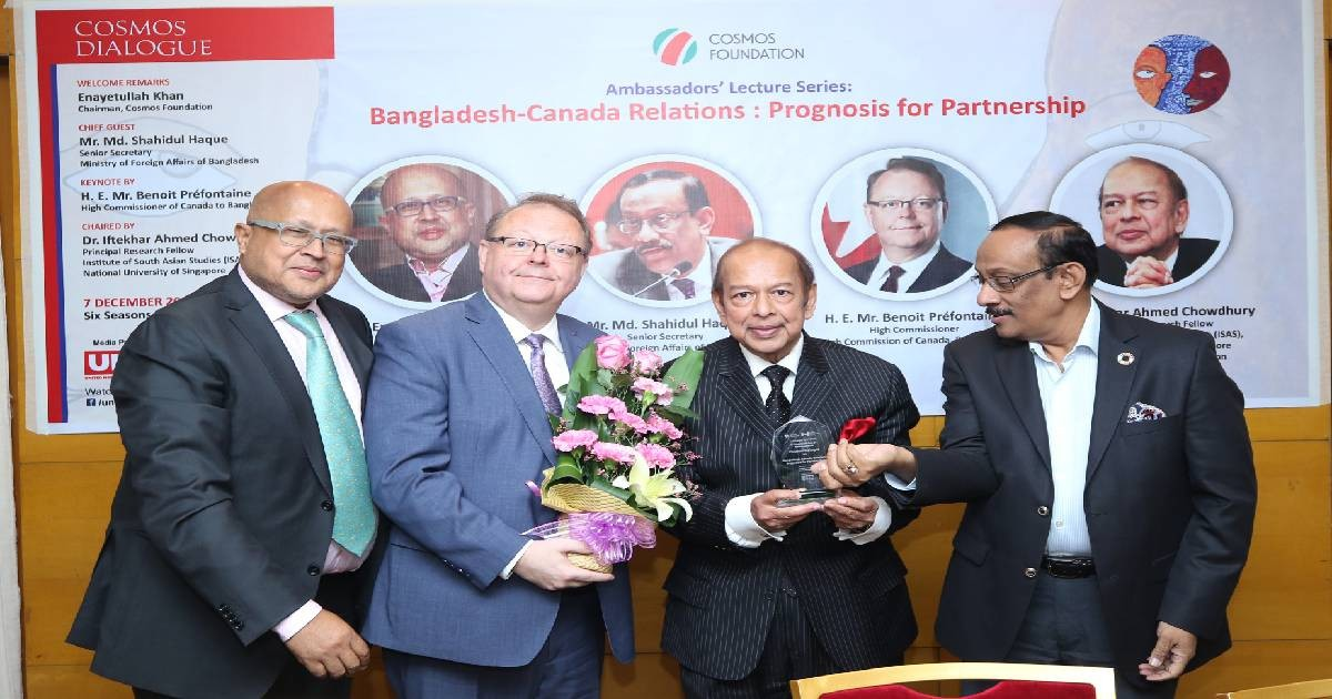 Canada to remain potentially engaged with Bangladesh: High Commissioner