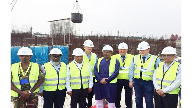 Rooppur NPP: Fixing 'core catcher' safety system starts