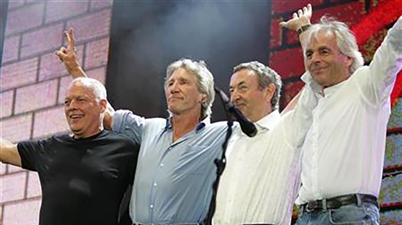 Pink Floyd to stream concert footage every Friday