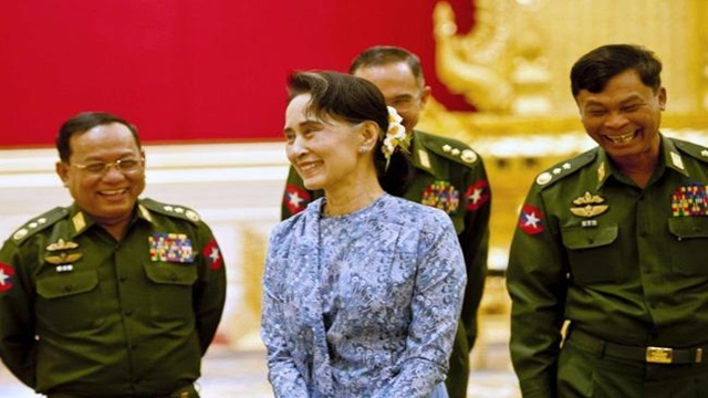 World criticism doesn't have Suu Kyi or Myanmar on the ropes