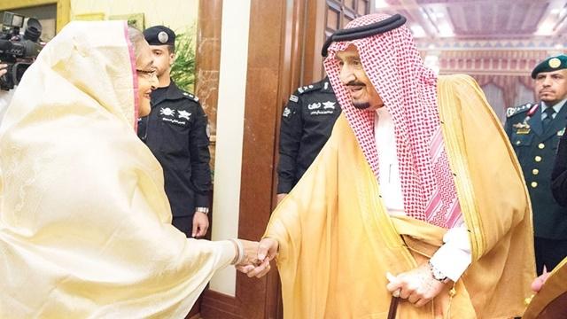 Saudi King hopes continuity of Sheikh Hasina government