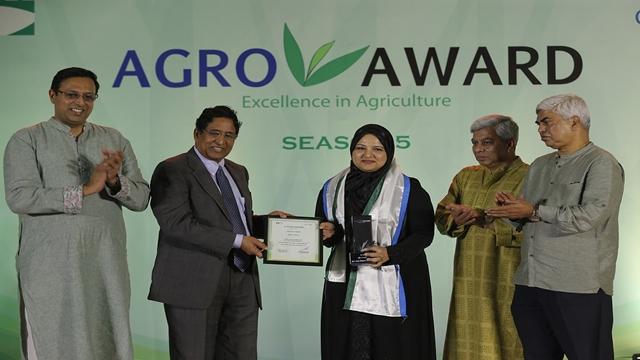 PRAN wins agro award