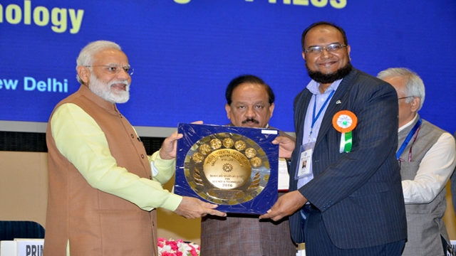 icddr,b senior director receives prestigious Indian science award