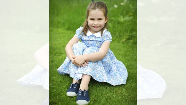 Marking the moment: New photos for Princess Charlotte's 4th