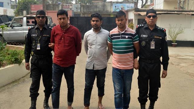 3 'members of human trafficking syndicate' held in Cumilla