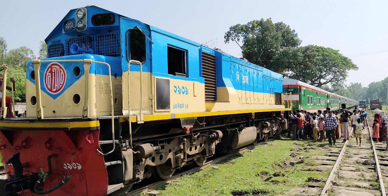 'Kurigram Express' on the Kurigram-Dhaka-Kurigram route.