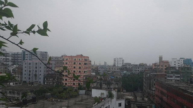 Monsoon rain brings relief to Dhaka dwellers