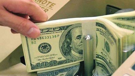 Forex reserves top $40b for first time