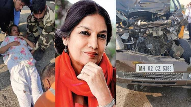 Shabana Azmi 'critically' injured in Mumbai road accident