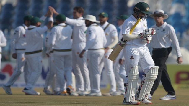Bangladesh concede innings defeat against Pakistan in first test