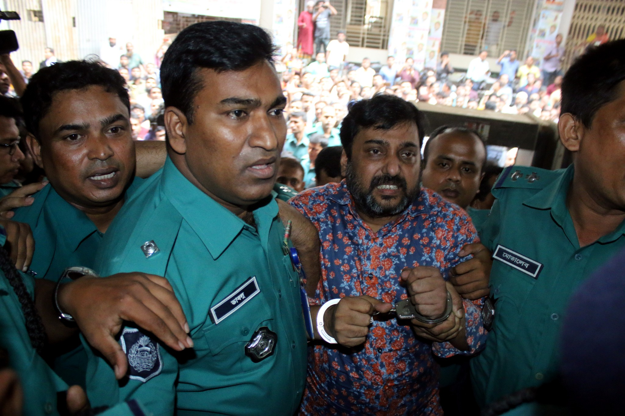 Samrat put on 10-day remand in two cases