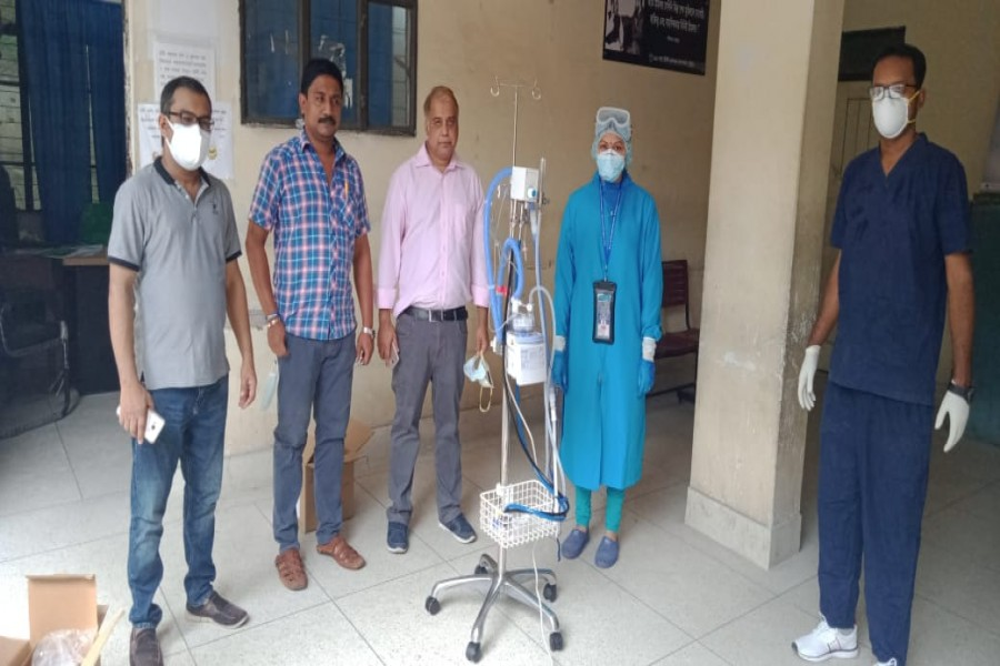 City Bank donates nasal cannula to Ctg General Hospital