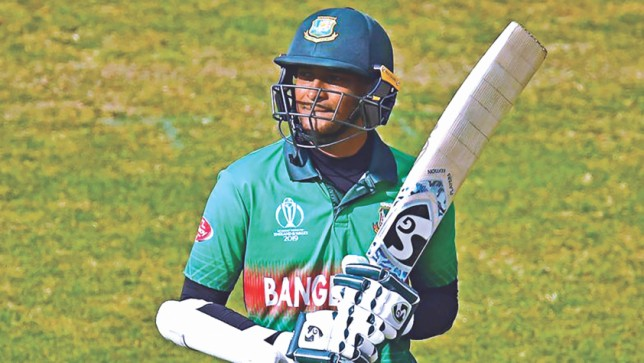 Shakib to auction bat he used in 2019 World Cup