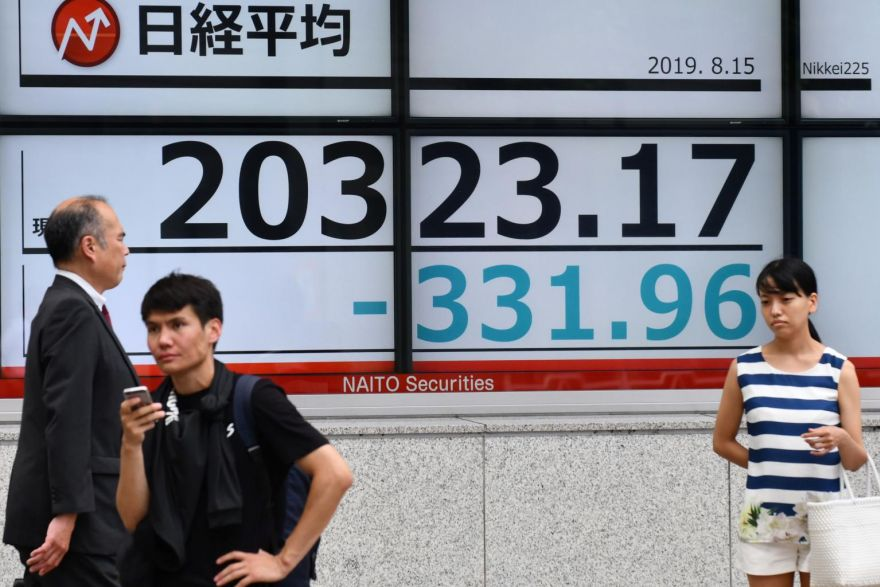 Tokyo stocks open lower on worries over economy