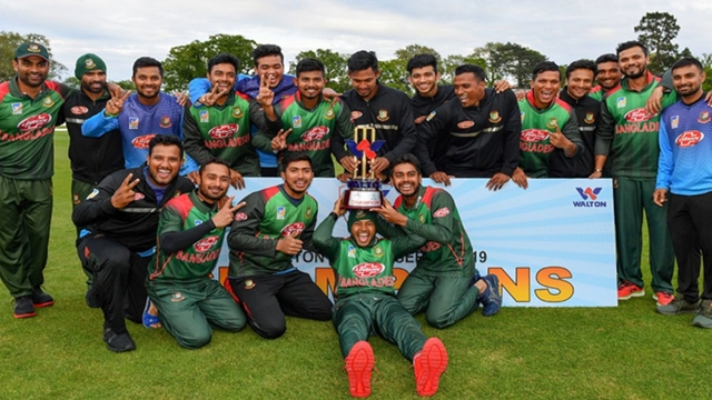 Red-hot Tigers beat West Indies to win maiden title in tri-nation tournament
