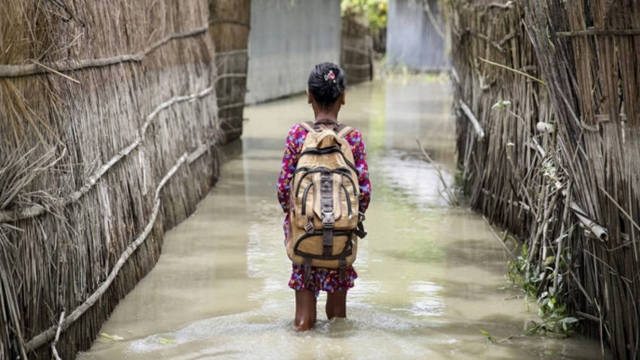Over 19mn BD kids at front line of climate change disasters: UN report