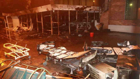 United Hospital accused of irresponsibility over Wednesday's fire