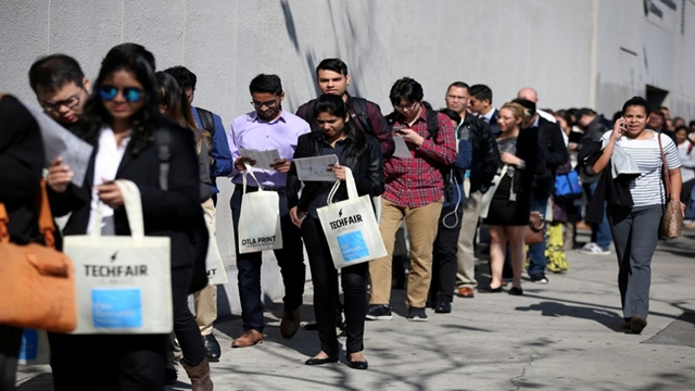 US economy adds 196,000 jobs in March