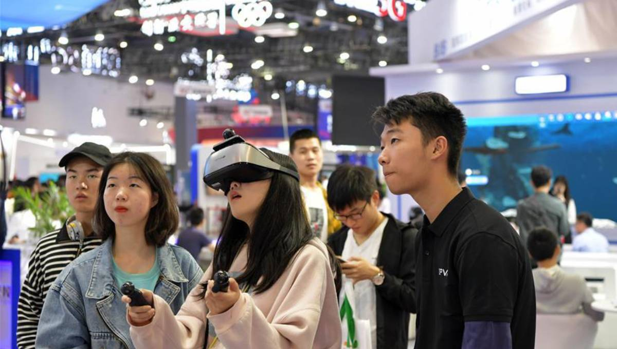 Conference on VR opens in east China