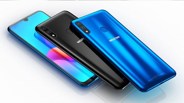 Walton launches notch display phone 'Primo R6 Max'