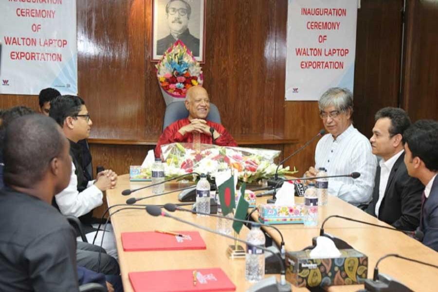 Walton to start exporting 'Made in Bangladesh' laptops in Nigeria