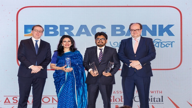 BRAC Bank wins three awards from AsiaMoney